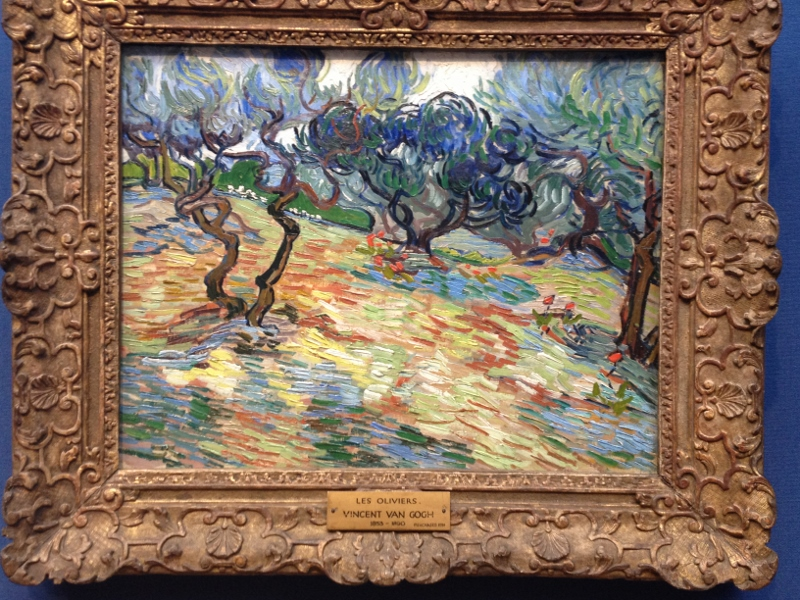 Van Gogh - The Olive Trees
