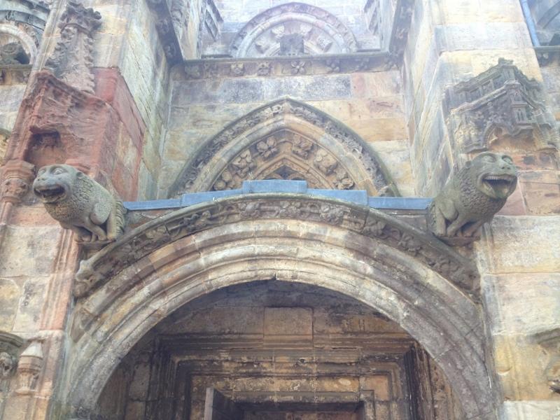 Gargoyles of Rosslyn Chapel
