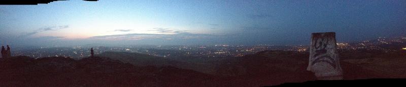 Edinburg from Arthur's Seat - Panorama
