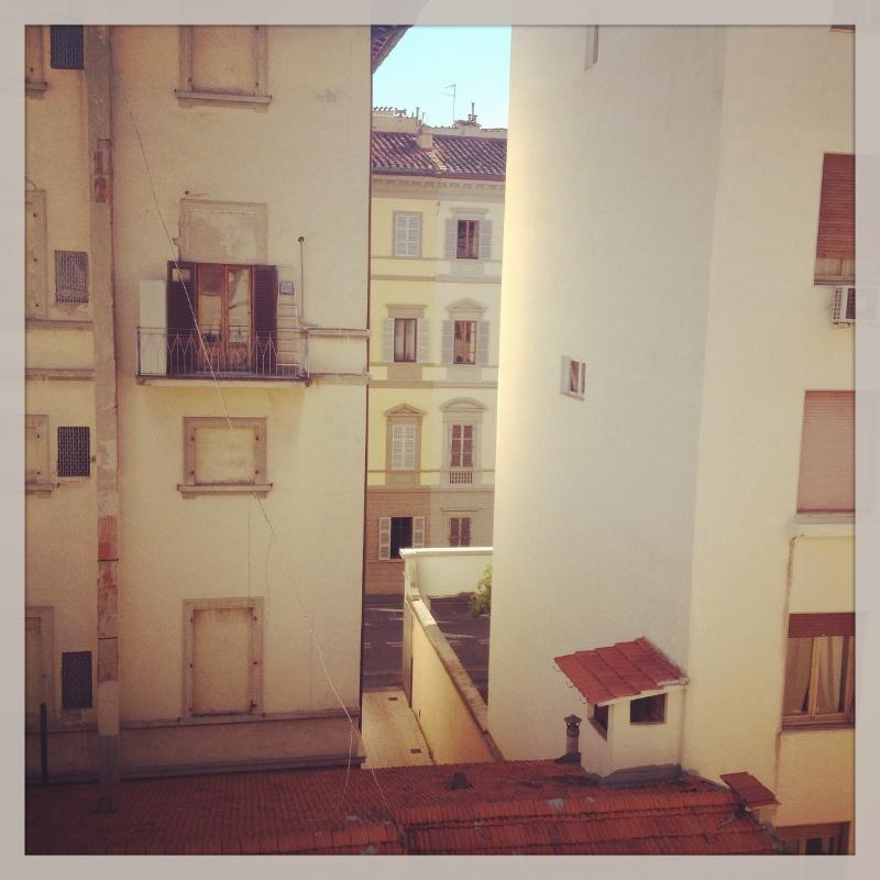 Outside my flat window in Firenze